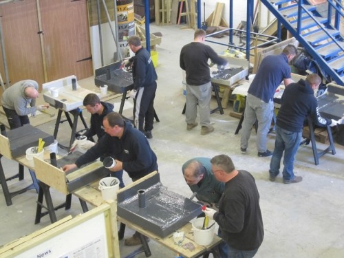 March GRP flat roof course